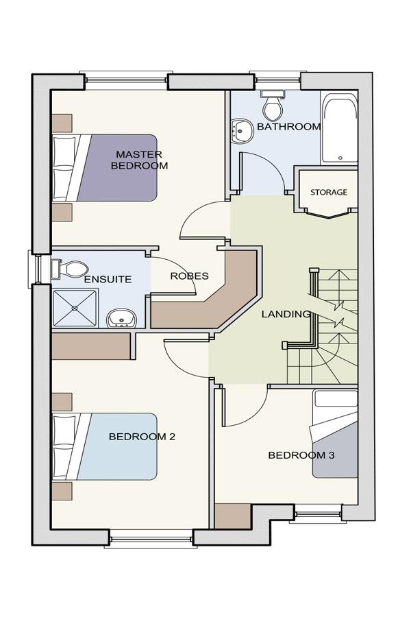 The Beckett First Floor Plan