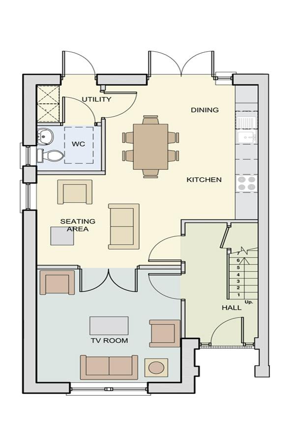 The Kavanagh Ground Floor Plan