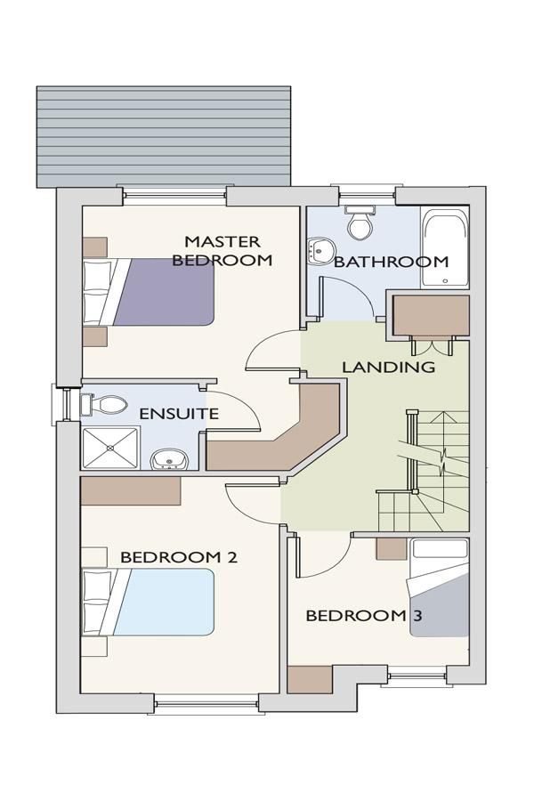 Type-E-1stfloor The Beckett Floor Plan