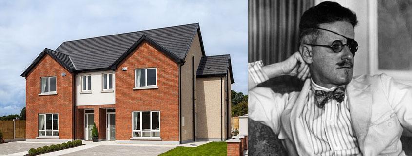 James Joyce. The 4 Bed Joyce House