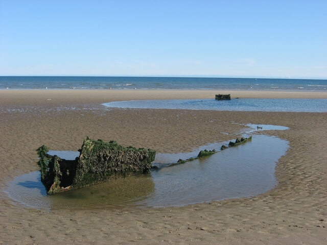 Shipwrecked Remains on Mornington Beach