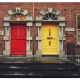 Red & Yellow Doors in Dublin