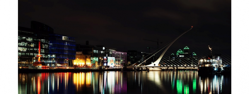 Night Time in Dublin